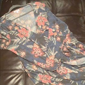 LuLaRoe SOFT Cashmere Feel Sarah Cardigan Floral